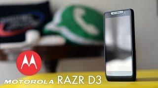 Motorola RAZR D3 en Telcel - Análisis Full HD