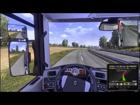 Euro Truck Simulator 2 - London To Cambridge - My 1st Delivery