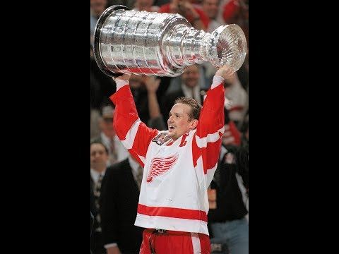 Detroit Red Wings press conference with Steve Yzerman