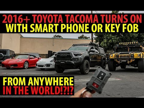 HOW TO TURN ON YOUR TACOMA WITH YOUR PHONE OR KEY FOB | PLUG & PLAY REMOTE START INSTALL DETAILED