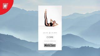 CORE с Натальей Смирновой 1 апреля 2021 Онлайн тренировки World Class