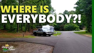 Oak Mountain State Park, Alaḃama - RV Camping review and hiking