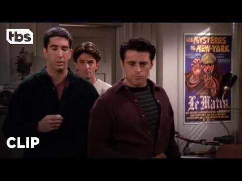 Friends: Joey Teaches Ross To Dirty Talk (Season 1 Clip) | TBS