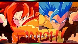 Super Saiyan 4 Vs Super Saiyan Blue | DBFZ