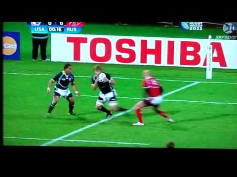 Rugby World Cup 2011 USA v Russia