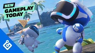 New Gameplay Today – Astro Bot Rescue Mission