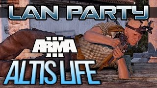 Arma III Altis Life - Honest Farmers - LAN Party