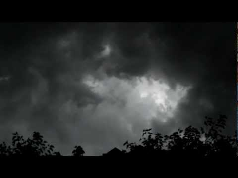 NYC Storm Severe Storms Move East  July 26th 2012