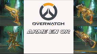 OVERWATCH | ARME EN OR |MODE COMPETITIVE |