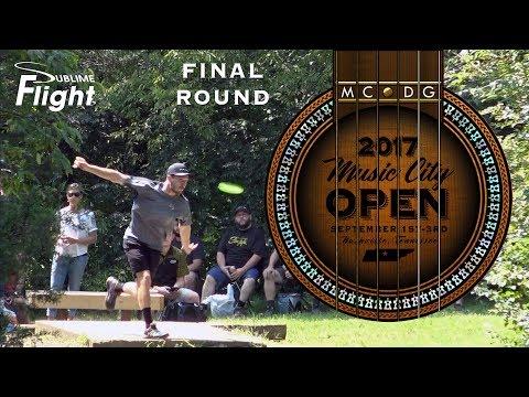 Music City Open 2017 Final Round Disc Golf Tournament