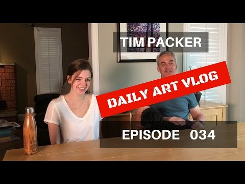 How To Photograph Your Paintings - Daily Art Vlog - Episode 034