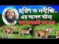 সুরেলা কণ্ঠে হরিণের সেই আসল ঘটনা Maulana Saidul Islam Asad Bangla waz Mahfil