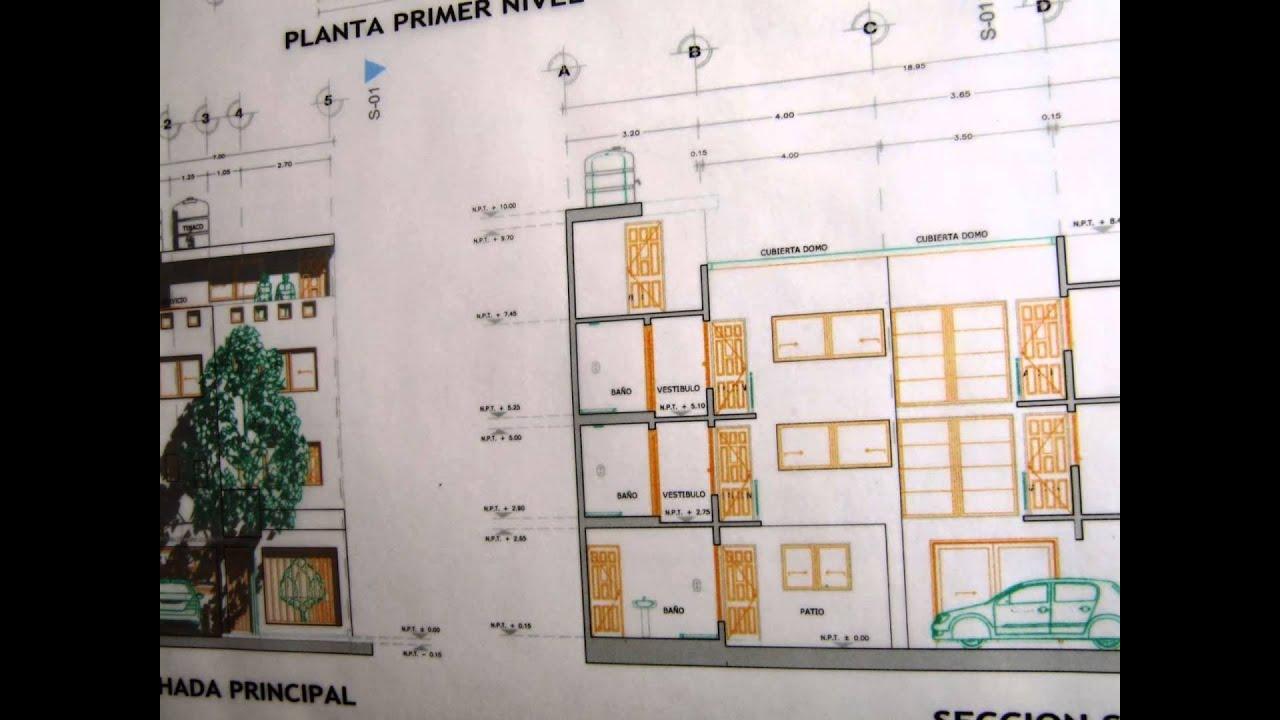 Dibujo de planos arquitectonicos en archicad planos en for Simbologia de planos arquitectonicos pdf