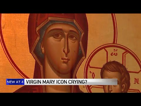 Worshippers Say Weeping Virgin Mary Is A `miracle`