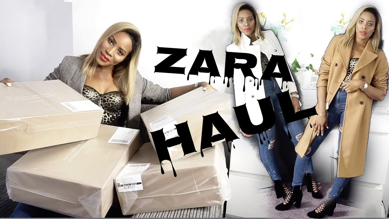 fc8cb5f1 ZARA HAUL UNBOXING TRY ON || PART 2 ♡ - YouTube