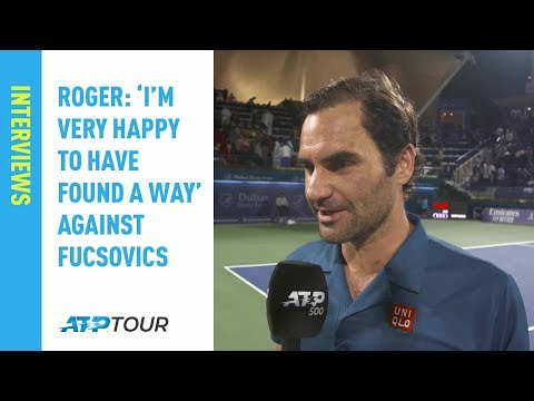 Federer 'Very Happy To Have Found A Way' In Dubai 2019