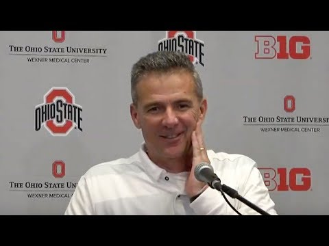 Urban Meyer: Ohio State postgame press conference after win
