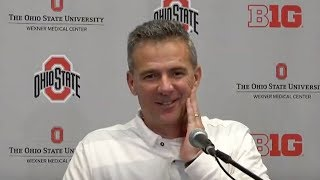 Urban Meyer: Ohio State postgame press conference after win over Michigan