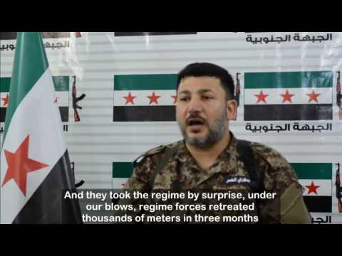 FSA Commander: I swear we will not be defeated in Daraa