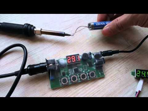 6s lipo battery powered solder iron youtube. Black Bedroom Furniture Sets. Home Design Ideas