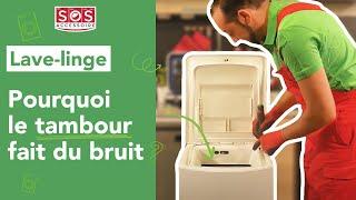 Pourquoi mon lave-linge fait des bruits étranges ? Vérification n°4 : le côté du tambour