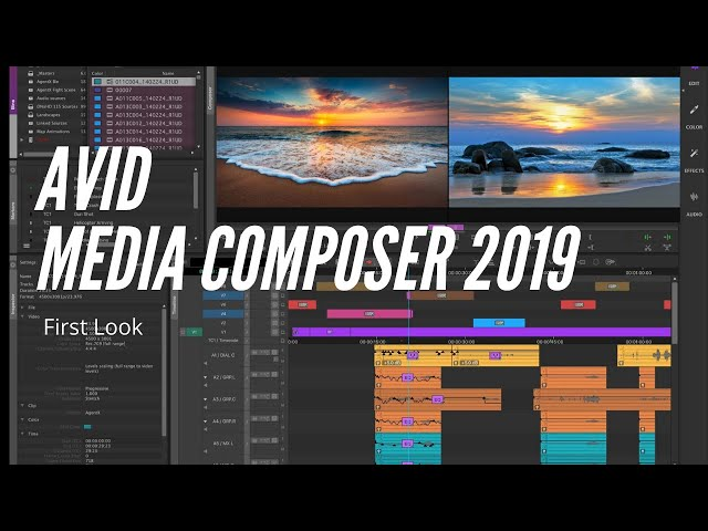 Media Composer 2019 - First look -
