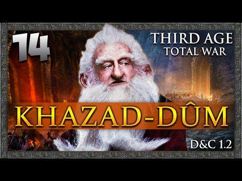 THE PATH TO GOBLIN TOWN! Third Age Total War: Divide & Conquer - Khazad-dûm Campaign #14