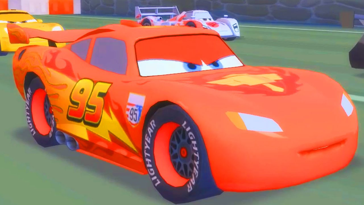 Flash mcqueen disney cars 2 pixar dessin anim disney infinity youtube - Image cars disney ...