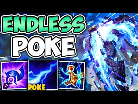 THIS MAX POKE XERATH SUPPORT BUILD IS LEGIT GAME BREAKING! (TARGET PRACTICE) – League of Legends