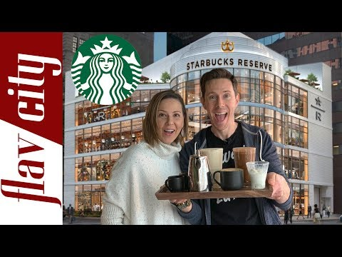 We Went To The LARGEST Starbucks In The World - Chicago Starbucks Reserve Roastery Review