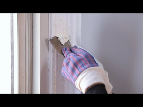 How to Strip Paint Using Chemicals | House Painting