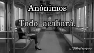 Los Pericos- Ft Carla Morrison- Anónimos (Letra)