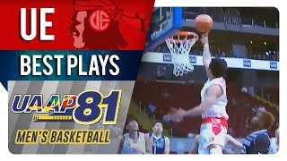 UAAP 81 MB: Alvin Pasaol fine dish to Wilson Bartolome for inside bucket | UE | Best Plays