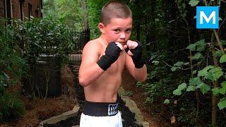 10-Year-Old Boxing Genius Javon Walton   Muscle Madness