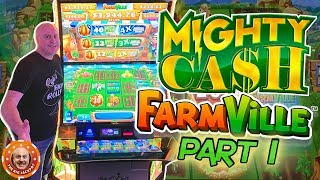 🤑HOW MUCH WILL I WIN? 🤑 Mighty Cash Farmville MEGA PLAY Part 1