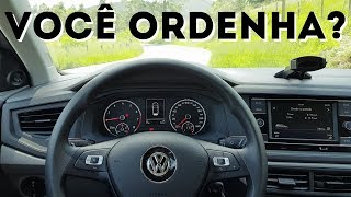 Você ordenha o volante?