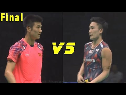 Kento MOMOTA vs CHEN Long - Badminton Asia Championships 2018 Final