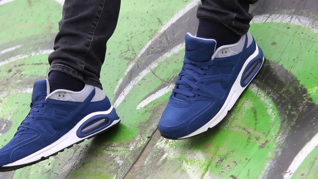 f99e2b34 Nike Air Max - Command Leather - Blue/White - YouTube