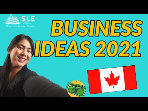 SMALL BUSINESS in Canada for immigrants 2021 - START WITH LESS THAN $100