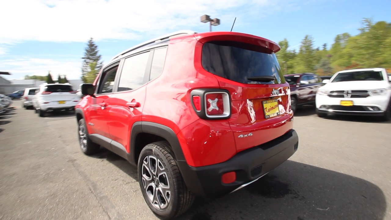2017 jeep renegade limited 4x4 colorado red hpf13121 redmond seattle youtube. Black Bedroom Furniture Sets. Home Design Ideas