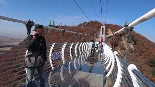 видео: Веселый Стеклянный мост. Китай г.Янцзы.
