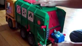 Phillips Bruder Toy Garbage Truck Video 3
