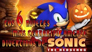 Top: Los 6 niveles mas terroríficamente divertidos de Sonic