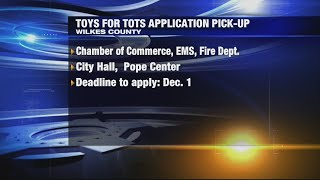 Toys-for- Tots Applications