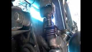 shift linkage pin removal