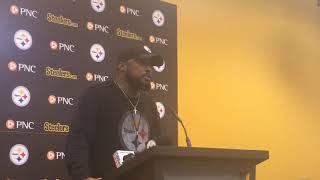 Mike Tomlin talks Steelers injuries vs. Jacksonville Jaguars