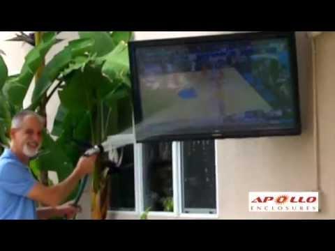 apollo outdoor tv enclosure easy installation