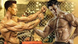 Tiger Shroff VS Vidyut Jammwal GYM Workout Video | Who Is The BEST Bodybuilder?