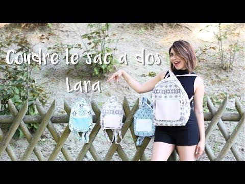 Coudre un sac à dos Lara / Sew a back pack Lara