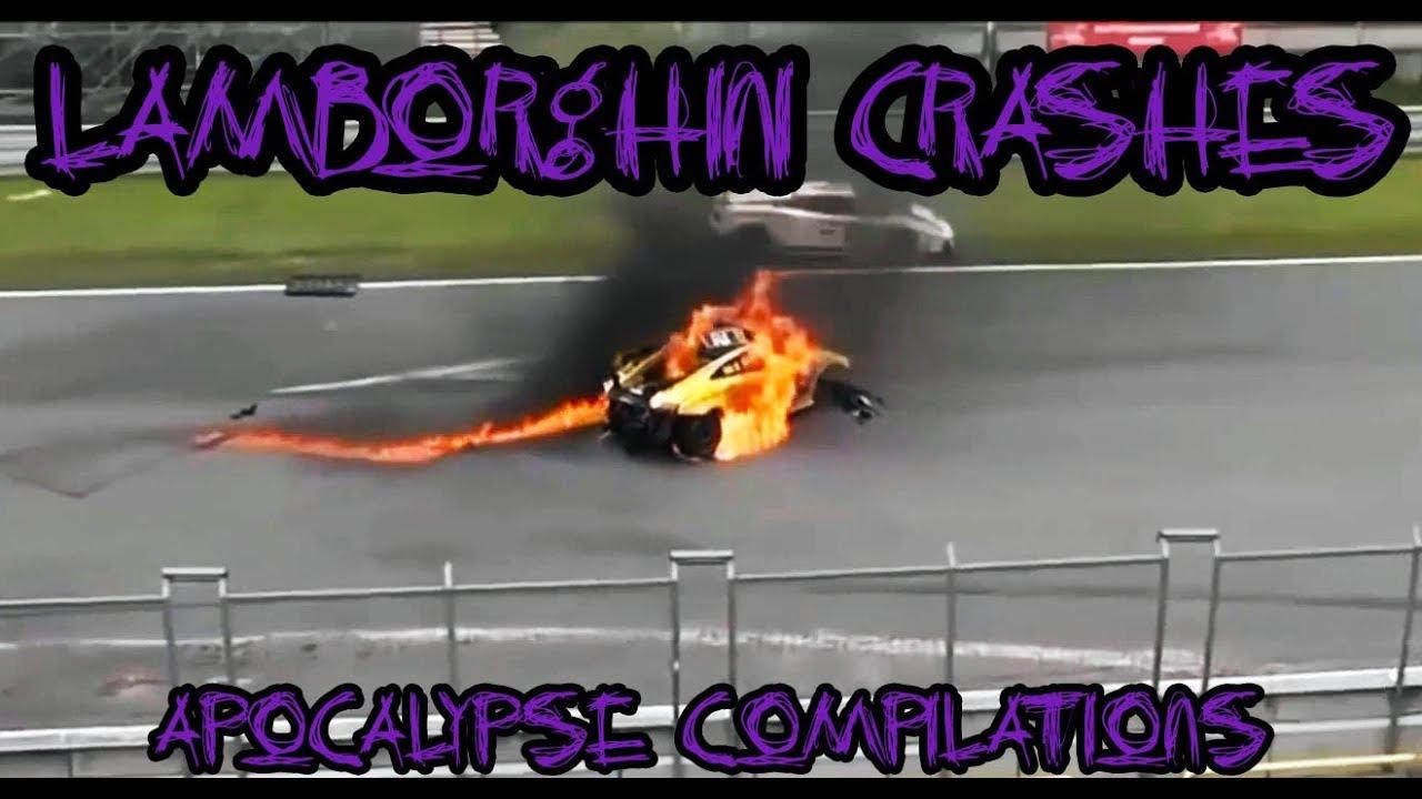 WORST LAMBORGUINI CRASHES!!